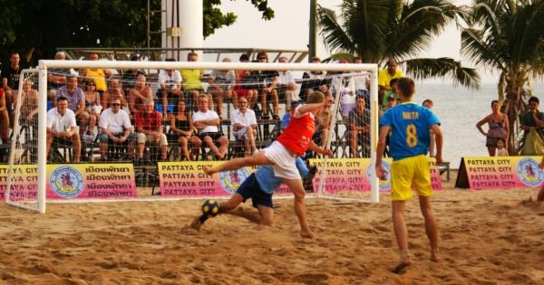 Pattaya International Beach Football Cup