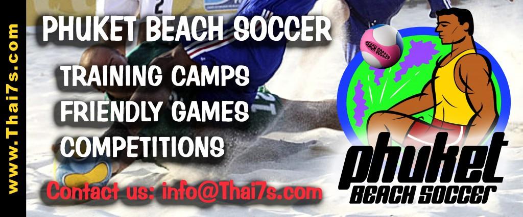 Banner Phuket Beach Soccer
