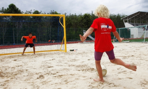 Youth Beach Soccer in Phuket